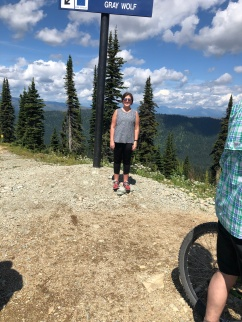 Top of whitefish mtn