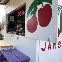 Local flathead cherry stand ..near GNP